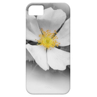yellow on shades of gray iPhone 5 case