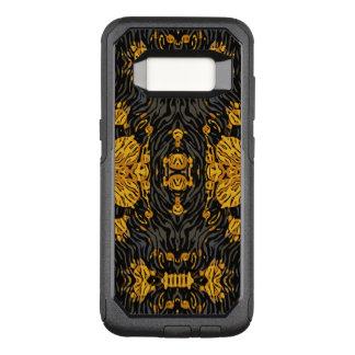 Yellow Orange Animal OtterBox Commuter Samsung Galaxy S8 Case