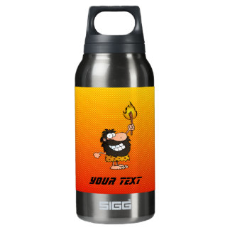 Yellow Orange Caveman SIGG Thermo 0.3L Insulated Bottle