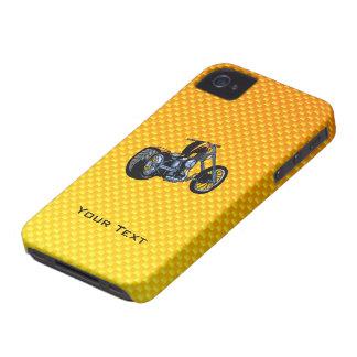 Yellow Orange Chopper Case-Mate iPhone 4 Case