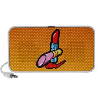 Yellow Orange Cosmetics Laptop Speakers