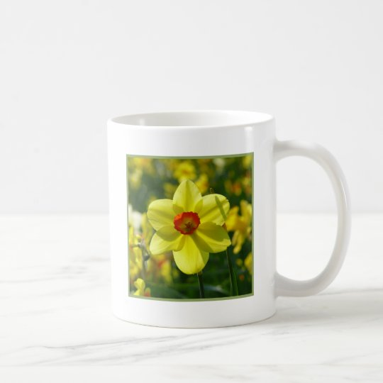 Yellow orange Daffodils 02.1g Coffee Mug
