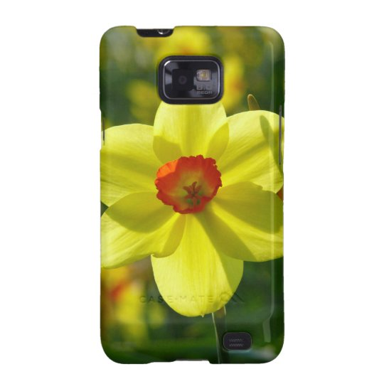 Yellow orange Daffodils 02.1g Samsung Galaxy SII Case