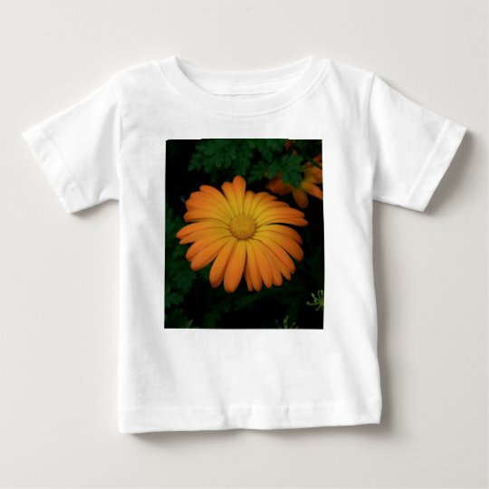 Yellow orange daisy flower baby T-Shirt