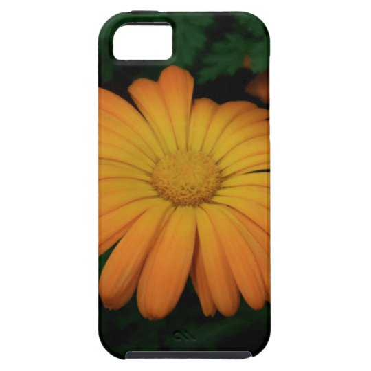 Yellow orange daisy flower case for the iPhone 5