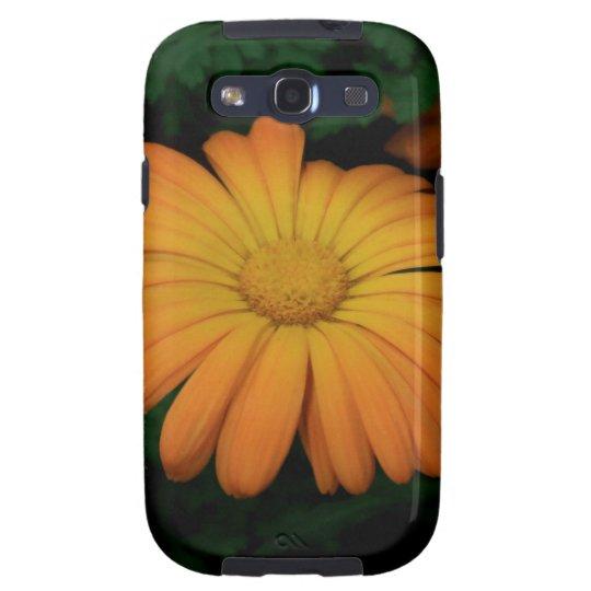 Yellow orange daisy flower galaxy SIII cover