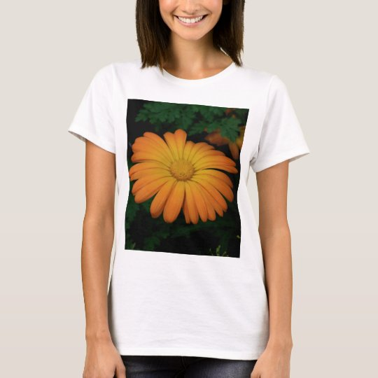 Yellow orange daisy flower T-Shirt