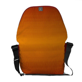 Yellow-Orange dots on ANY color custom bag Courier Bag