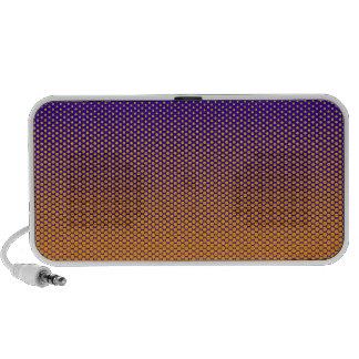 Yellow-Orange dots on ANY color custom speaker