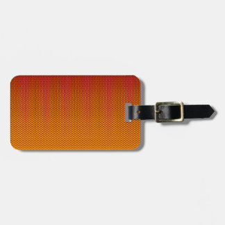 Yellow-Orange dots on ANY color custom tag Tags For Bags