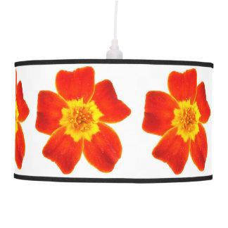 Yellow Orange Flowers Lamp Shade