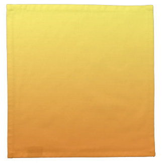 Yellow & Orange Ombre Napkin