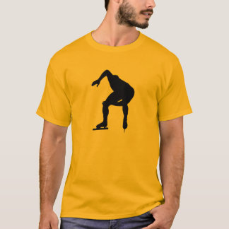 Yellow Orange Speed Skater T-Shirt