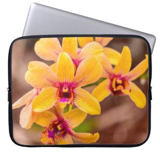Yellow Orchid, Lawai, Kauai, Hawaii Wetsuit Laptop Sleeve