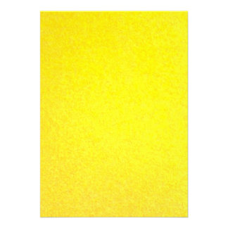 Yellow outside personalized announcement