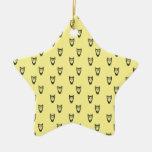 Yellow owl pattern