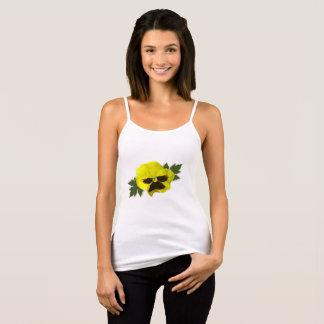 Yellow Pansies Tank Top
