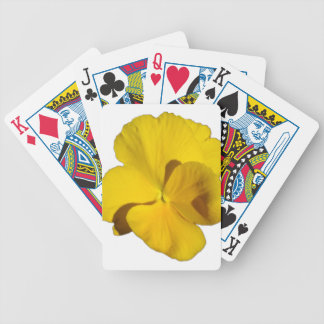 Yellow Pansy 201711f Bicycle Playing Cards