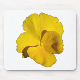 Yellow Pansy 201711f Mouse Pad