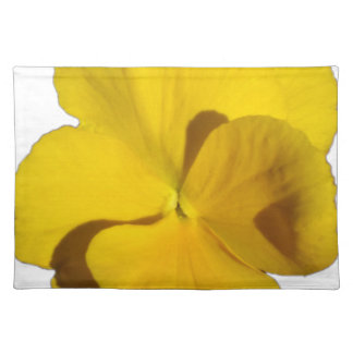 Yellow Pansy 201711f Placemat