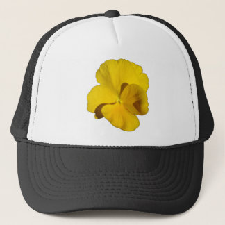 Yellow Pansy 201711f Trucker Hat