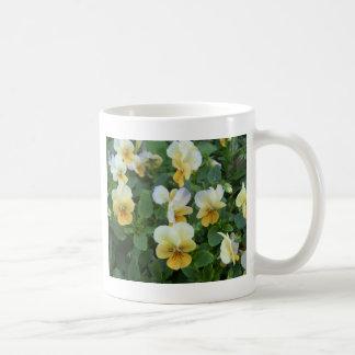 Yellow Pansy Coffee Mug