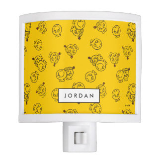 Yellow Pattern | Add Your Name Nite Light