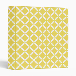 Yellow Pattern Binder