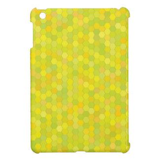 yellow pattern iPad mini case