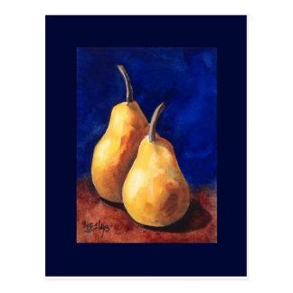 Yellow Pears Postcard