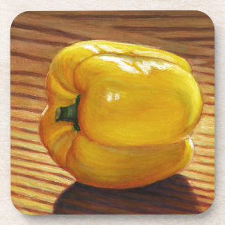Yellow Pepper Coaster