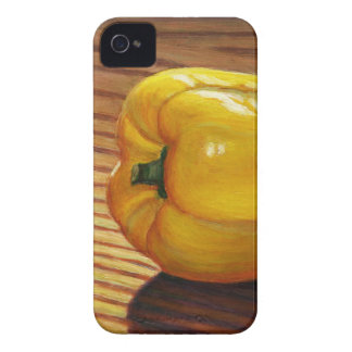 Yellow Pepper iPhone 4 Case