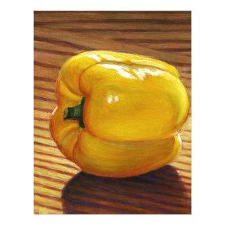 Yellow Pepper Letterhead