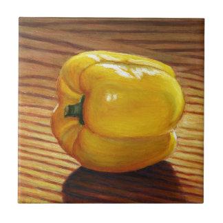 Yellow Pepper Tile