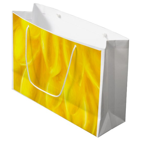 Yellow Petals Gift Bag - Large