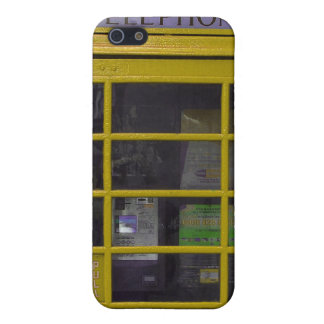 yellow phone booth Iphone4 casing iPhone 5/5S Case