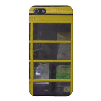 yellow phone booth Iphone4 casing iPhone 5 Case