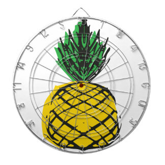 YELLOW PINEAPPLE DARTBOARD