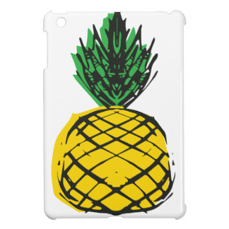 YELLOW PINEAPPLE iPad MINI COVER
