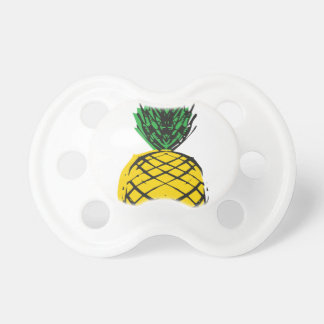 YELLOW PINEAPPLE PACIFIER