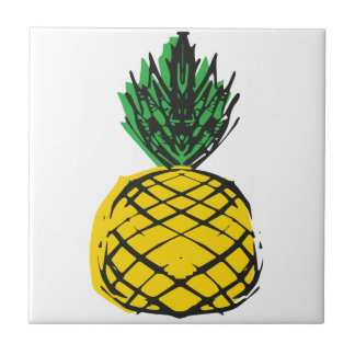YELLOW PINEAPPLE TILE