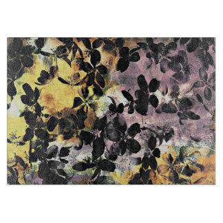 Yellow pink flower pattern floral digital art boards