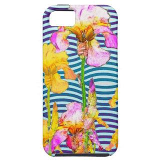Yellow-Pink Iris Water Garden iPhone 5 Case