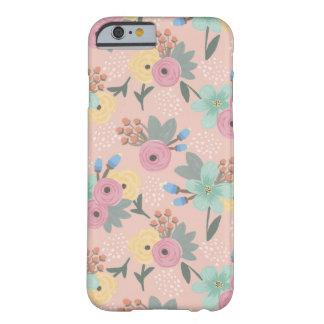 Yellow Pink Mint Orange Spring Floral Phone Case