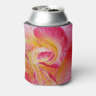 yellow pink petals can cooler
