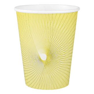 Yellow Plafond Paper Cup