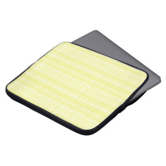 Yellow Plaid Laptop Sleeve