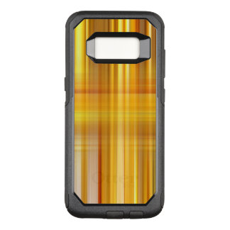 Yellow Plaid OtterBox Commuter Samsung Galaxy S8 Case