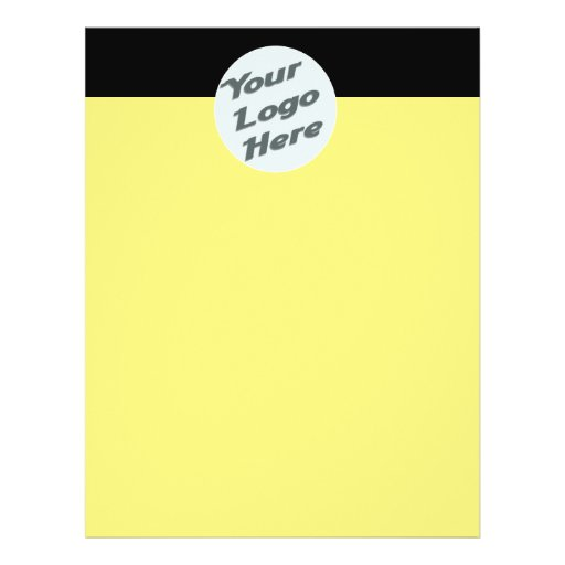 yellow plain full color flyer
