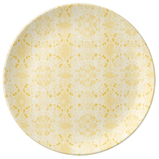 yellow plate porcelain plate